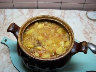 Овощное рагу с мясом, рецепт рагу в духовке