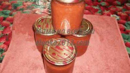 Томатный соус в домашних условиях