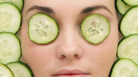 Огуречная маска для лица