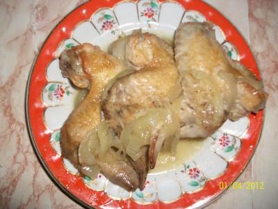 Блюдо из куриных крылышек