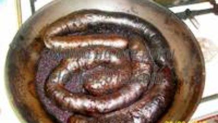 Домашняя кровяная колбаса, рецепт кровянки