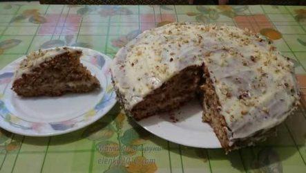 Торт с пастернаком