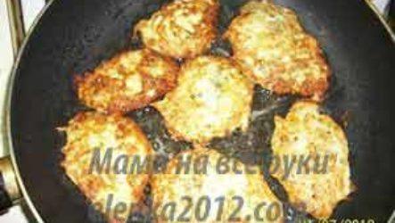 Как приготовить деруны картофельные