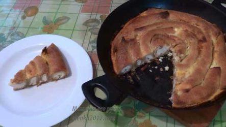 Торт из блинчиков с творогом